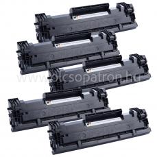 Hp cf244a ( 44a ) Fekete Prémium Utángyártott Toner 5x1000 oldal