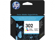 HP F6U65AE No.302 színes tintapatron (eredeti)