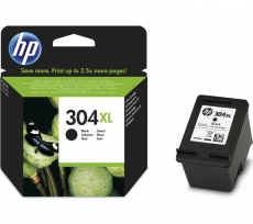 HP No.304XL (N9K08AE) eredeti fekete tintapatron, ~300 oldal