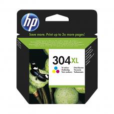 HP No.304XL (N9K07AE) eredeti színes tintapatron, ~300 oldal