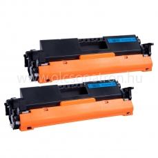 HP CF217A 17A CHIPES 2 db Fekete Prémium utángyártott toner 2x1600 oldal