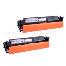 HP CF230X 30X CHIPES 2db Fekete Prémium utángyártott toner 2x3500 oldal